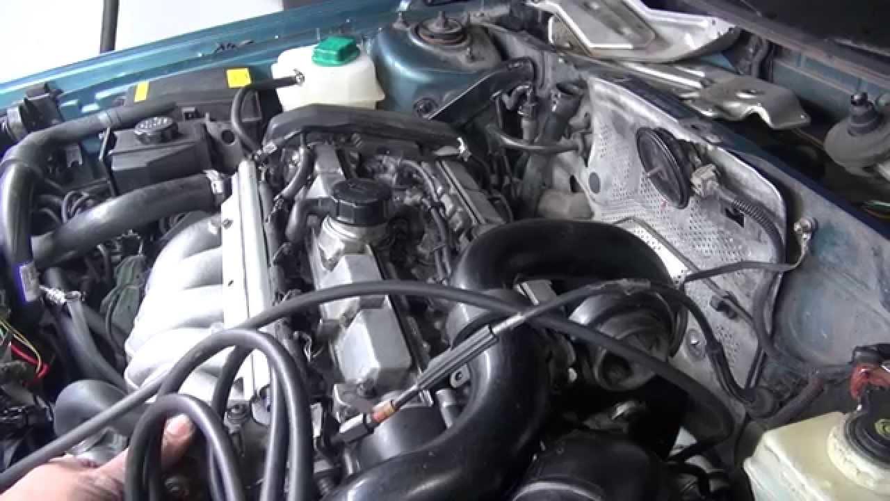 Volvo 850 T5 vacuum hoses routing