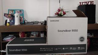 soundbar Samsung HW-R550  2019  BR