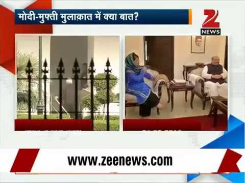 J&K govt formation: PDP's Mufti Mohammad Sayeed meets PM Modi