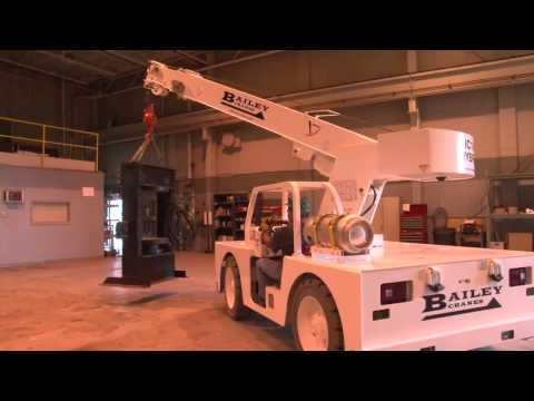 IC18 Hybric Electric Carry Deck Crane