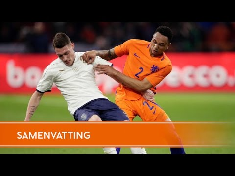 Highlights Nederland-Italië (28/03/17)