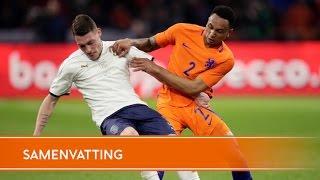 Highlights Nederland-Italië (28/03/17)