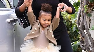 North West Tells Photogs At Ballet: