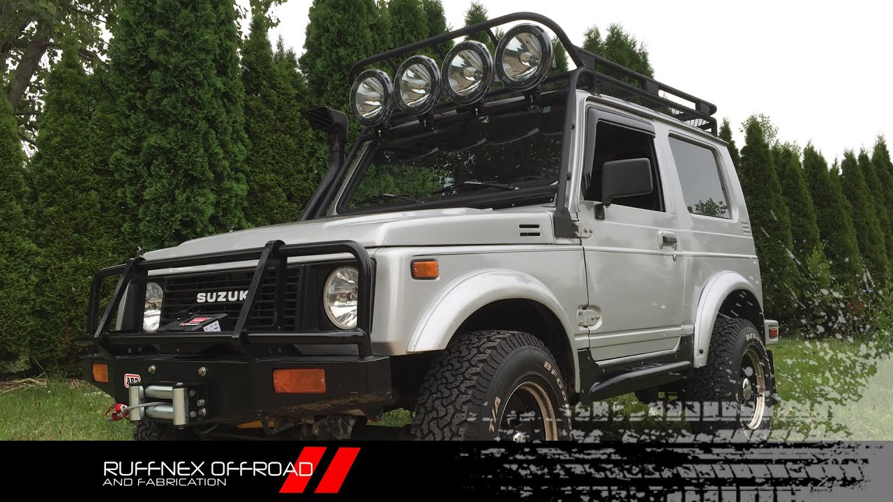 suzuki samurai roof rack youtube. Black Bedroom Furniture Sets. Home Design Ideas