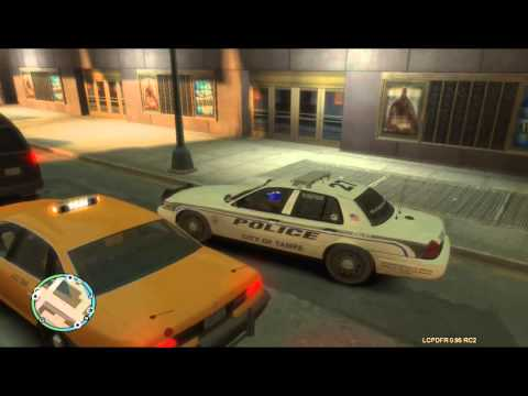 LCPDFR 0.95 RC2 Braveheart´s policing script with Tampa Police Department