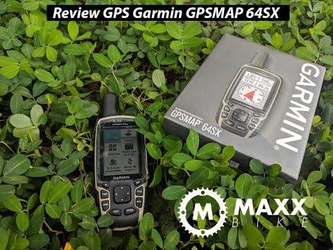 Review conceito GPS Garmin GPSMAP 64SX