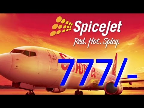 खुशखबरी: हवाई यात्रा अब मात्र 777/- में | SpiceJet Offers Under 'Lucky 7 Sale'