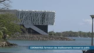 Coronavirus: fermeture des établissements recevant du public en Guadeloupe depuis dimanche soir