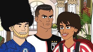 Download Ronaldo Gives Joao Felix Some Advice | The Champions S3 Premiere Mp3 and Videos