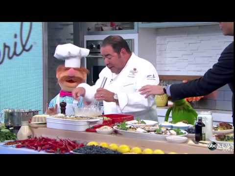 Emeril Lagasse Meets The Muppets' Swedish Chef