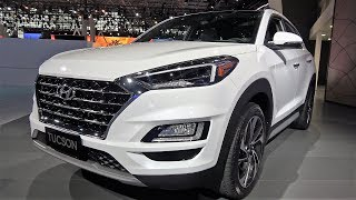 2019 Hyundai Tucson Limited | Inside | 2018 NYIAS