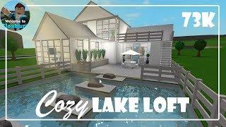 Roblox | Cozy Lake Loft | Bloxburg