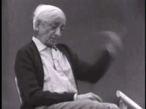 Krishnamurti-Learning That Transforms Conciousness - Part 4 of 8