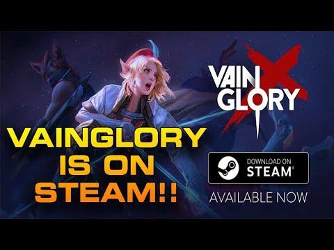VAINGLORY RELEASES ON STEAM!! + Beginner PC Guide! | Vainglory Cross Platform