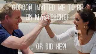 Gordon Invited Me To Be On Masterchef... Or Did He?! | Olivia Culpo