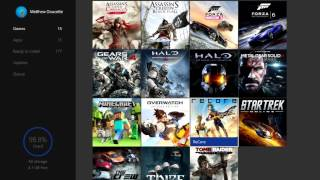 Xbox One - Filled Hard Drive - Only 15 Games! (500 GB, 98.8% Used, 4.1 GB Free)