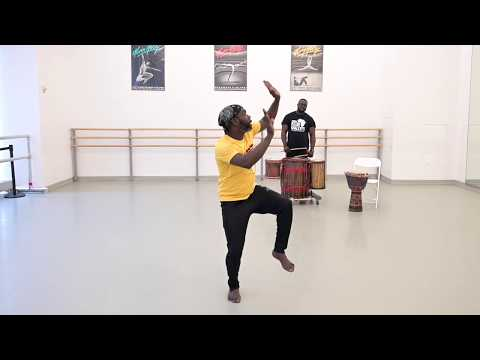 Online West African Dance with Maguette Camara