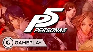 First 20 Minutes of Persona 5 from TGS 2016