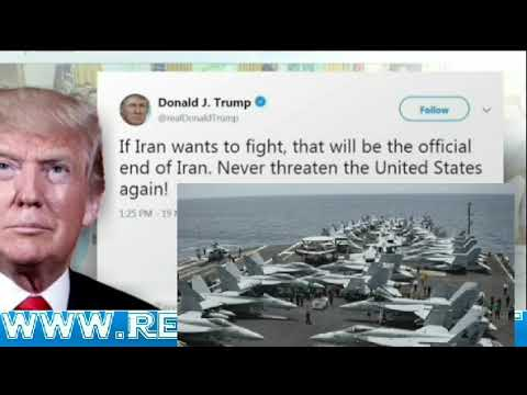TRUMP GIVE IRAN DIRECT WARNING AND THREATEN  FOR  DISTROY