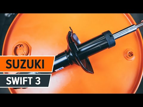 How to replace shock absorber on SUZUKI SWIFT 3 [TUTORIAL AUTODOC]