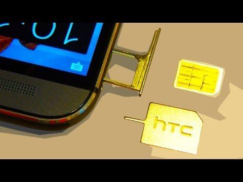 htc one m8 sim karte HTC ONE M8 / M9 Sim Card? + Install   YouTube