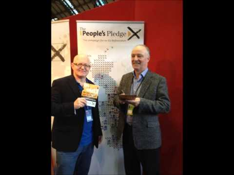 David Crausby MP signs The People