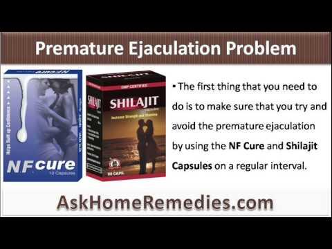 Excessive masturbation premature ejaculation