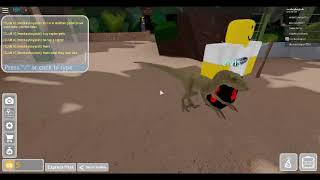 Universal Roblox Jurassic Park tour (Day)