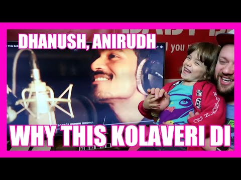 WHY THIS KOLAVERI DI Studio SONG REACTION!!!