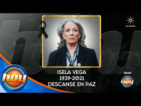 Fallece la gran actriz de cine mexicano, Isela Vega, a los 81 años de edad | Programa Hoy