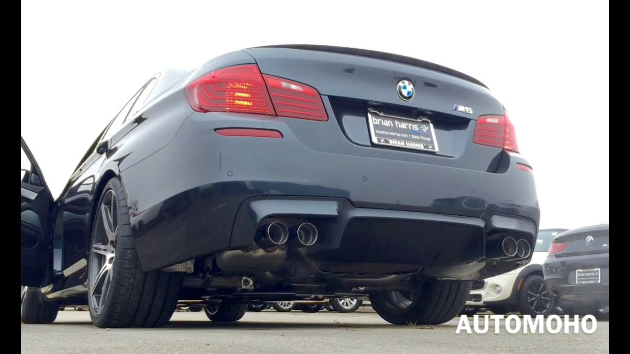 SOUND: 2016 BMW M5 F10 Exhaust /Start Up  /Short Drive