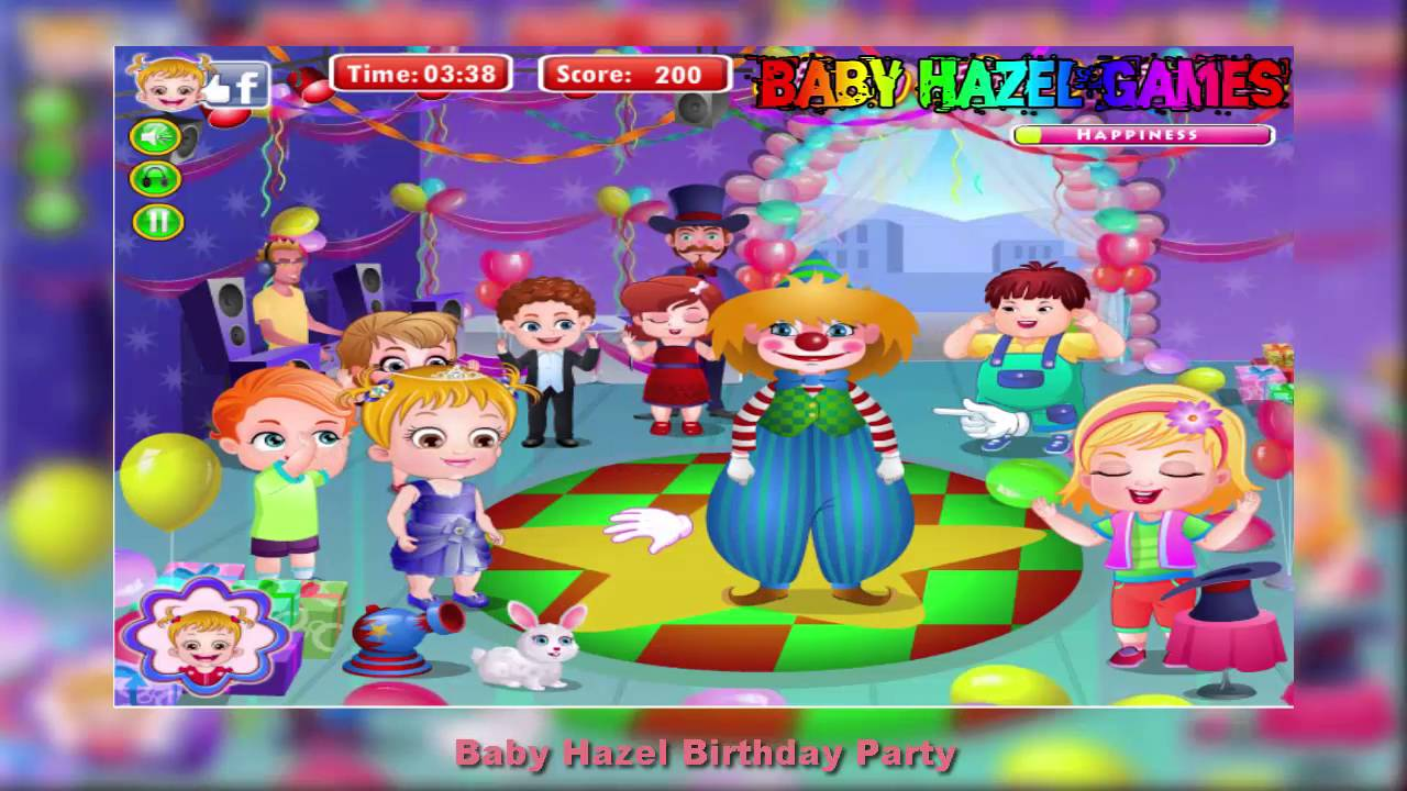 Baby Hazel Birthday Party Baby Hazel Game Movie Dora The