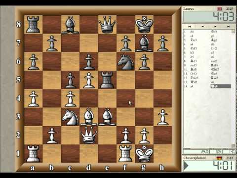 Blitz Chess #05 with Live Comments - Modern Benoni (w win)
