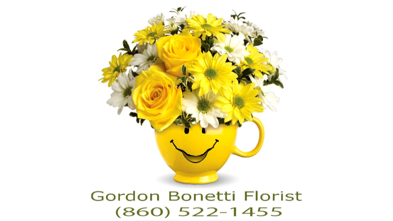 Gordon Bonetti Florist Make Someone Smile animation - YouTube