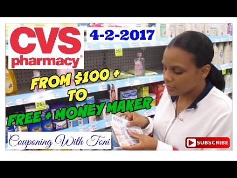 CVS 4/2/2017 ~ FREE COUPONING + MONEY MAKER