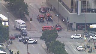 FBI: Man who shot at Texas courthouse dies