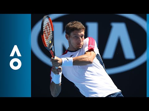Pablo Carreno Busta v Gilles Simon match highlights (2R) | Australian Open 2018