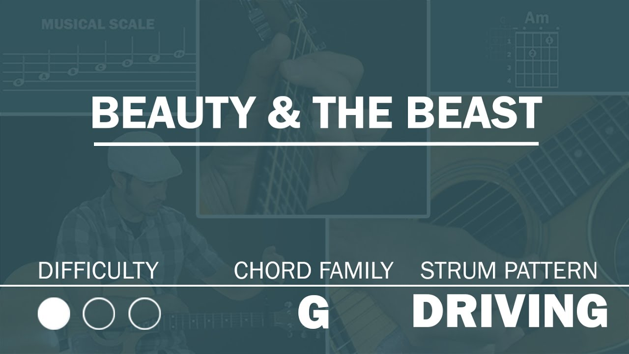 beauty and the beast chords # 15