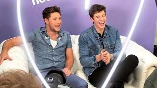 Baixar Shawn Mendes and Niall Horan being interviewed at BBC - THE BIGGEST WEEKEND