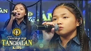 "Tawag ng Tanghalan Kids: Lorraine sings her own version of ""Ikaw"""