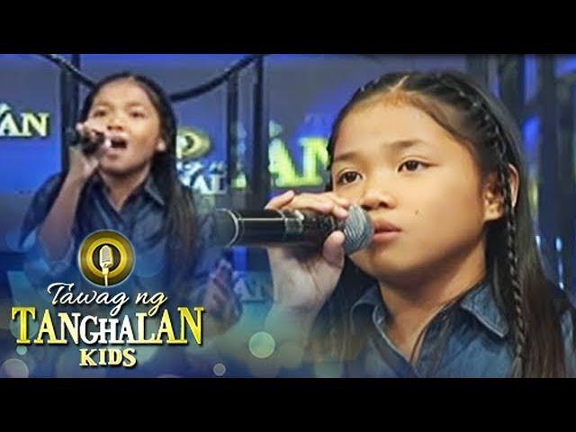 Tawag ng Tanghalan Kids: Lorraine sings her own version of Ikaw
