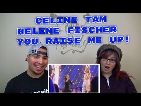 MOM & SON REACTION! Celine Tam Helene Fischer Show 2017 You Raise Me Up