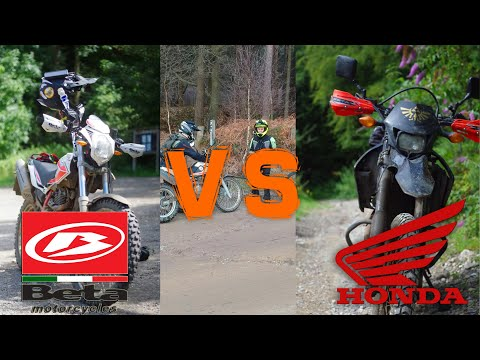 CRF250L VS BETA Alp 4.0