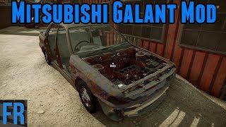 Car Mechanic Simulator 2018 - Mitsubishi Galant Mod