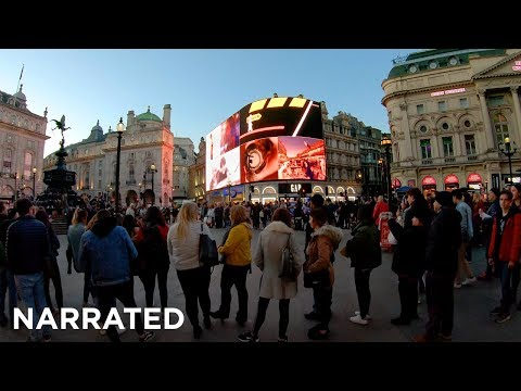 Walking London's West End (Narrated) - Soho, Regent Street, Piccadilly Circus