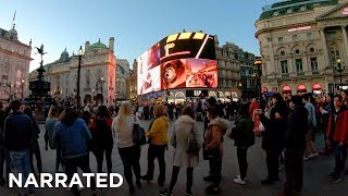 ⁴ᴷ Walking London's West End (Narrated) - Soho, Regent Street, Piccadilly Circus