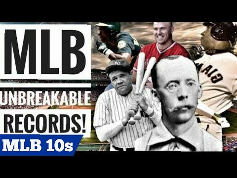 10 MLB Records That Are IMPOSSIBLE TO BREAK!
