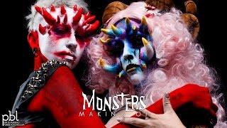 MONSTERS - PBL & UBL MakeUp Collaboration 2014 - 01