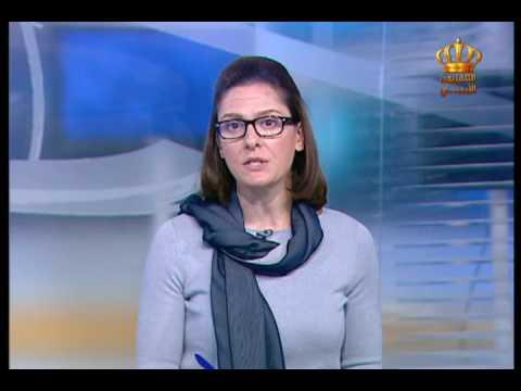 English News at Ten on Jordan Television 07-04-2017