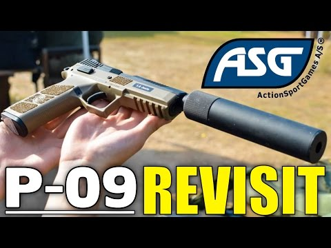 ASG CZ P-09 Duty Airsoft Pistol Review REVISIT - Airsoft Station Review